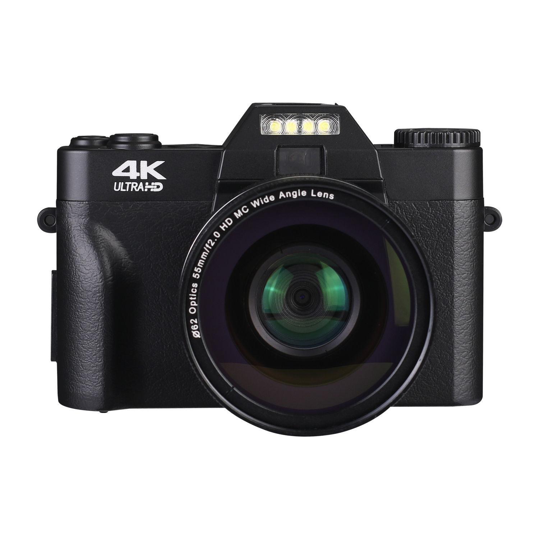 微单复古相机4800万高清学生16倍4K录像单反数码照相机WIFI摄像机