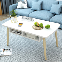 Tatami coffee table Modern simple living room elliptical low table Nordic Economy floating window table small family pit table