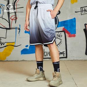 准者篮球裤运动短裤男女宽松透气吸汗裤子训练服大码休闲五分裤