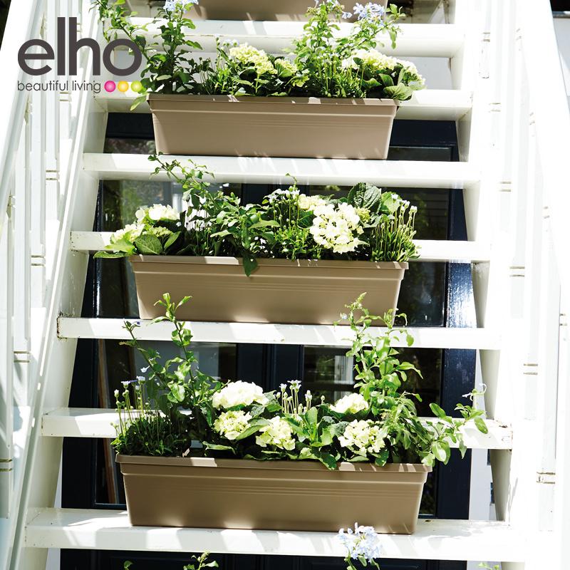 Радуга больше нидерланды elho импорт овощной сад любовь хорошо охрана окружающей среды серия прямоугольник цветок корыто балкон семена блюдо бассейн