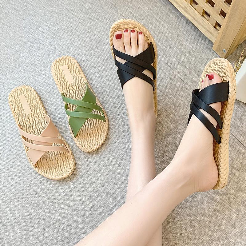 (过期)歌瑞梦旗舰店 2021新款夏天外穿室外沙滩凉拖鞋 券后7.9元包邮