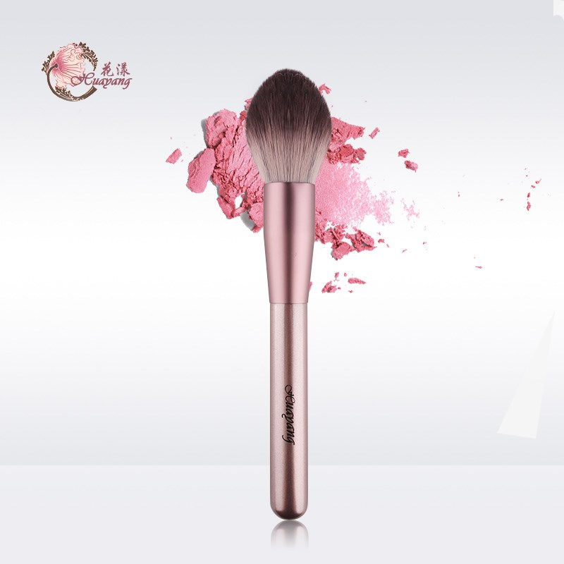 Small pudding flame, blush powder, makeup brush, facial brush, female beginner, a Cangzhou cosmetic brush.
