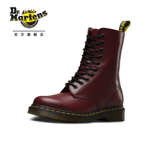 Dr. Martens Martin 1490 Classic 10-hole Martin Boots Star of the Same British Style Men and Women