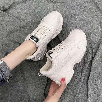 老爹鞋女2019春季新款韩版百搭网红增高学生智熏鞋运动鞋女超火