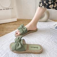 查看沙滩花朵凉拖鞋女外出夏天外穿时尚蝴蝶结ins潮2021新款夏季凉鞋价格