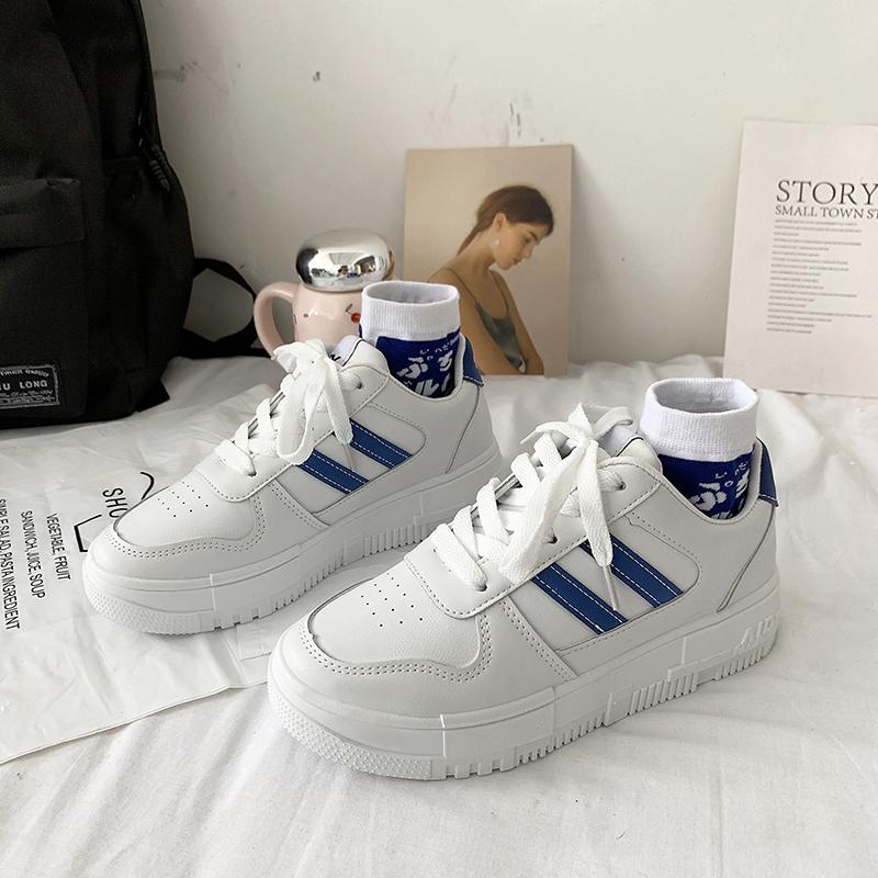 韩版鞋子帆布运动小白ins潮鞋女鞋