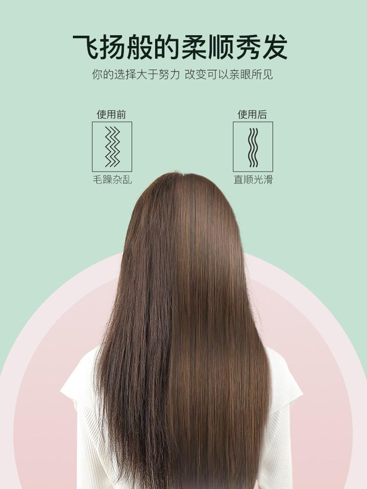 雷班のマイナスイオンのまっすぐな髪のくしのまっすぐなパーマの棒の2つは内で結び目を傷つけないでください。