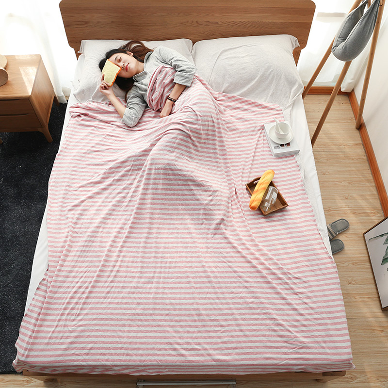Dirty sleeping bag pure cotton portable travel business trip hotel single and double indoor sleeping bag pure cotton