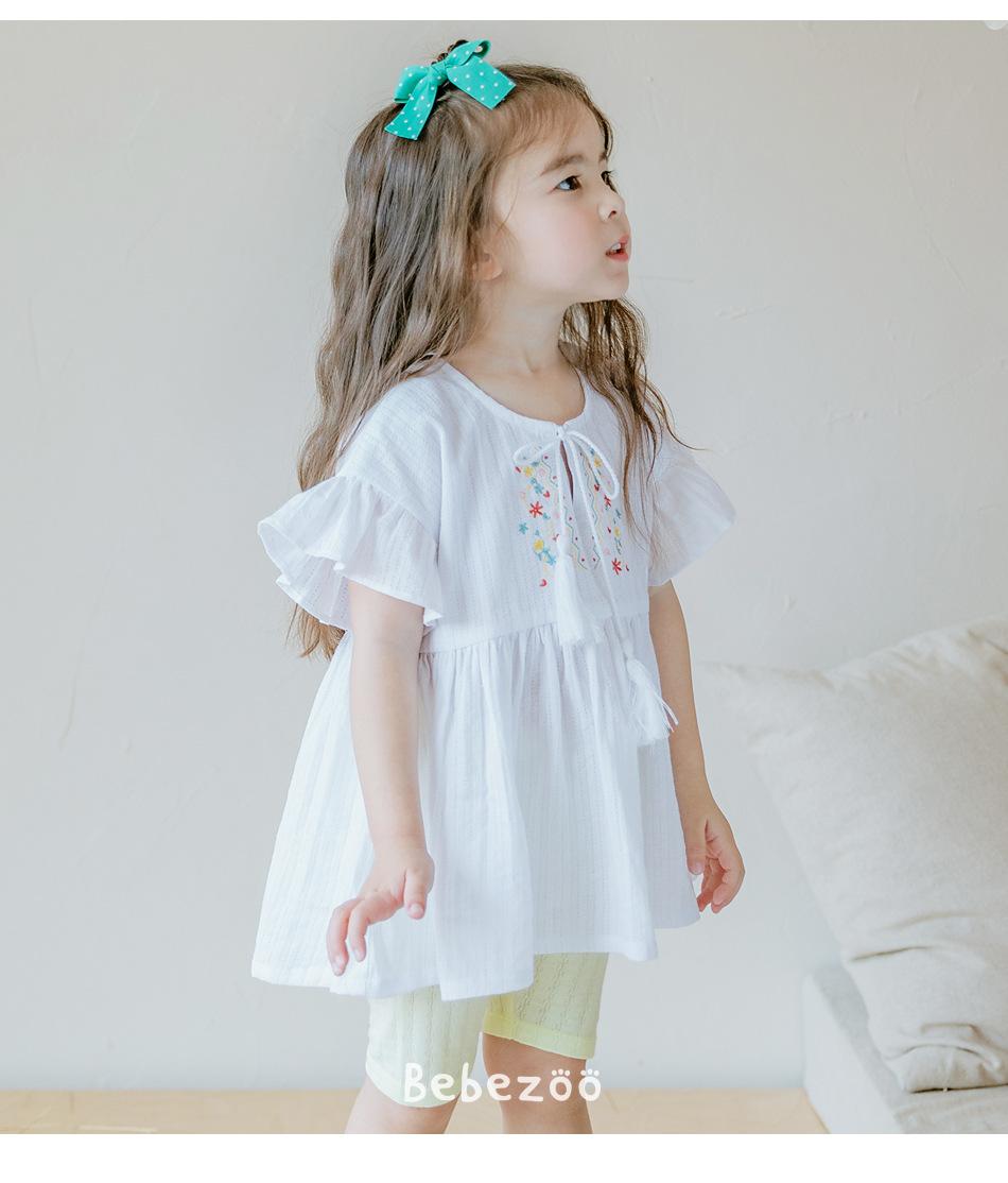 仙仙的!女宝宝韩版森系娃娃衫衬衫