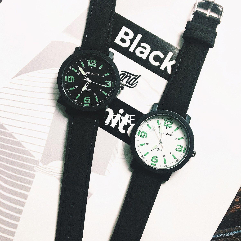 2020新款时尚夜光情侣手表男士学生韩版时尚简约抖音同款女生腕表