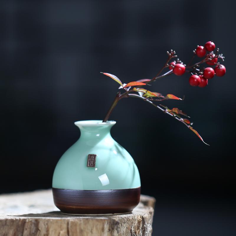 清仓处理花瓶北欧式陶瓷干花摆件客厅仿真插花家居电视柜软装饰品