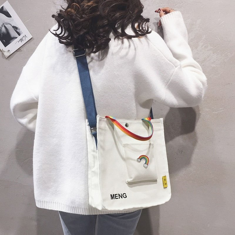 The bag that can hold the iPad womens bag and the bag that can hold the tablet can be put down