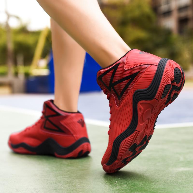 2020新款休闲高帮男鞋户外篮球鞋硬地战靴时尚潮流春季跑步鞋9803