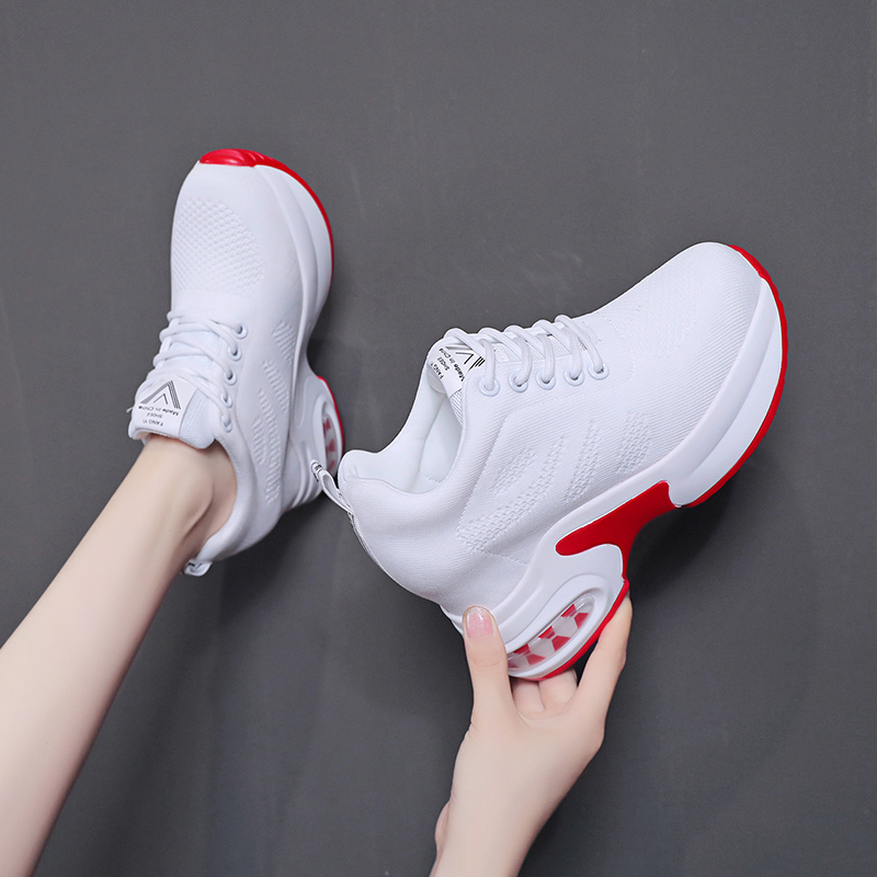 Summer boots childrens short boots high top breathable high heel thick sole casual shoes womens fashion sports shoes spring and summer 2020