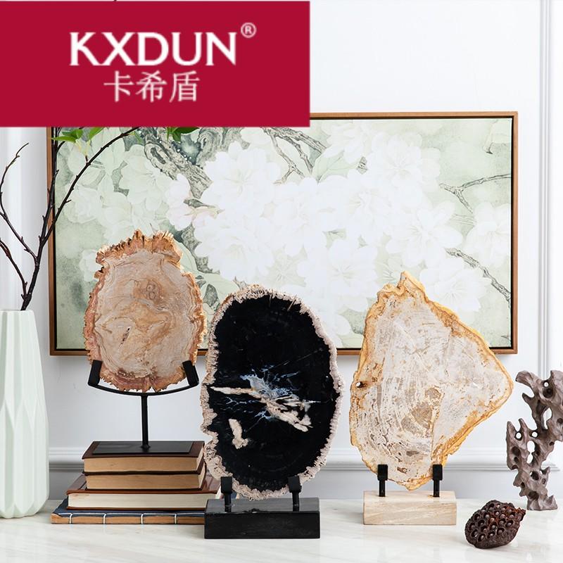 KXDUN/卡希盾雅典娜北欧木化石工艺品玄关客厅摆-木化石(卡希盾旗舰店仅售1867.5元)