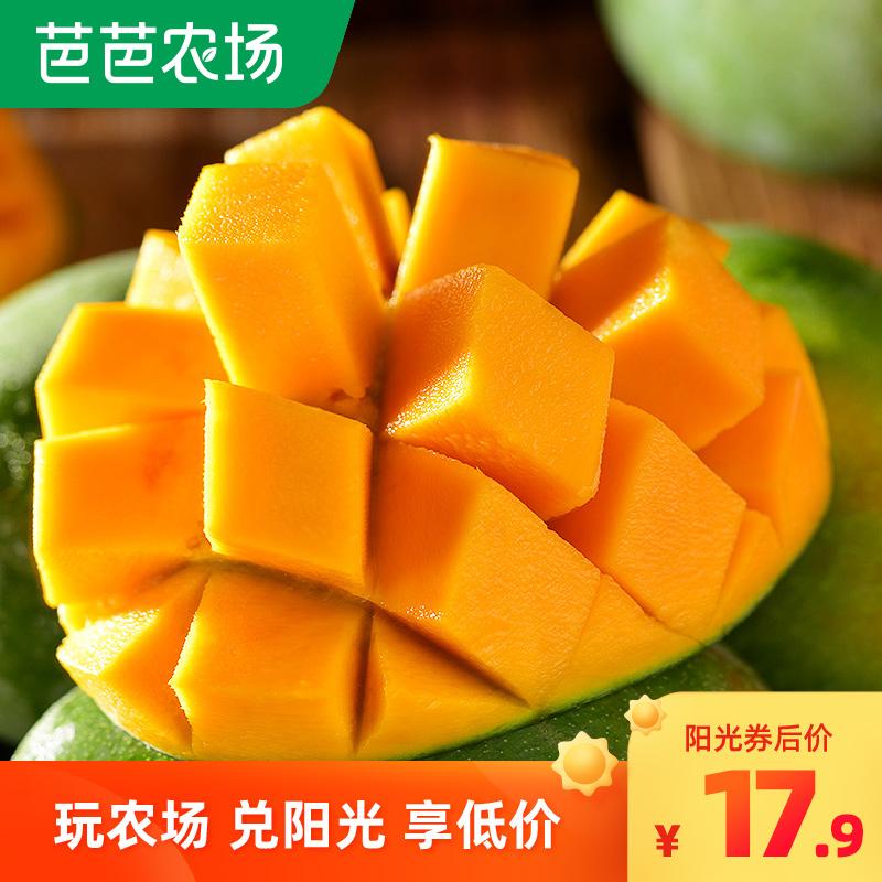 四川攀枝花凯特大芒果新鲜当季水果5斤