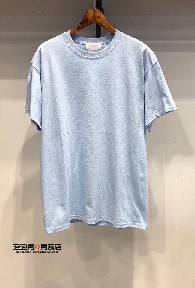夏季新品基础T恤男