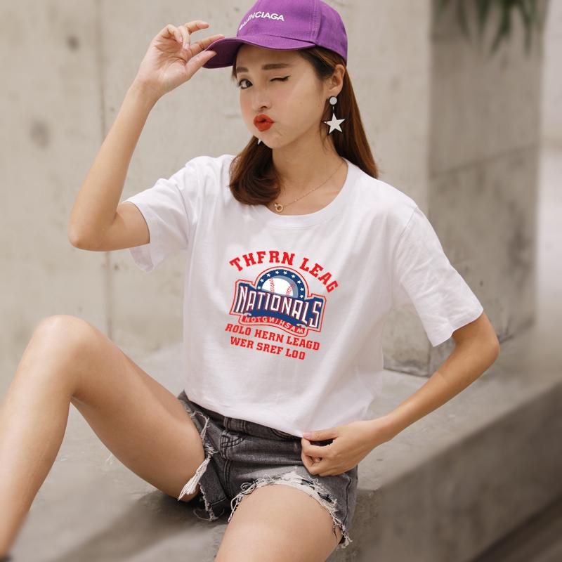 夏季纯棉百搭t恤
