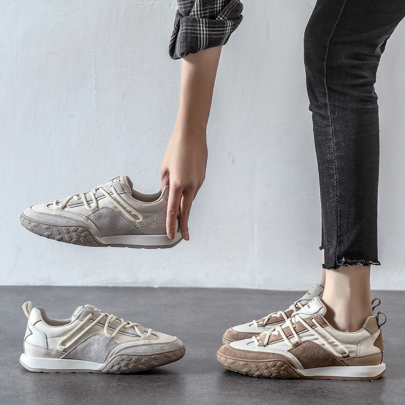 Waffle Forrest Gump shoes womens 2021 spring new womens shoes light running shoes flat bottom small white shoes soft bottom canvas shoes