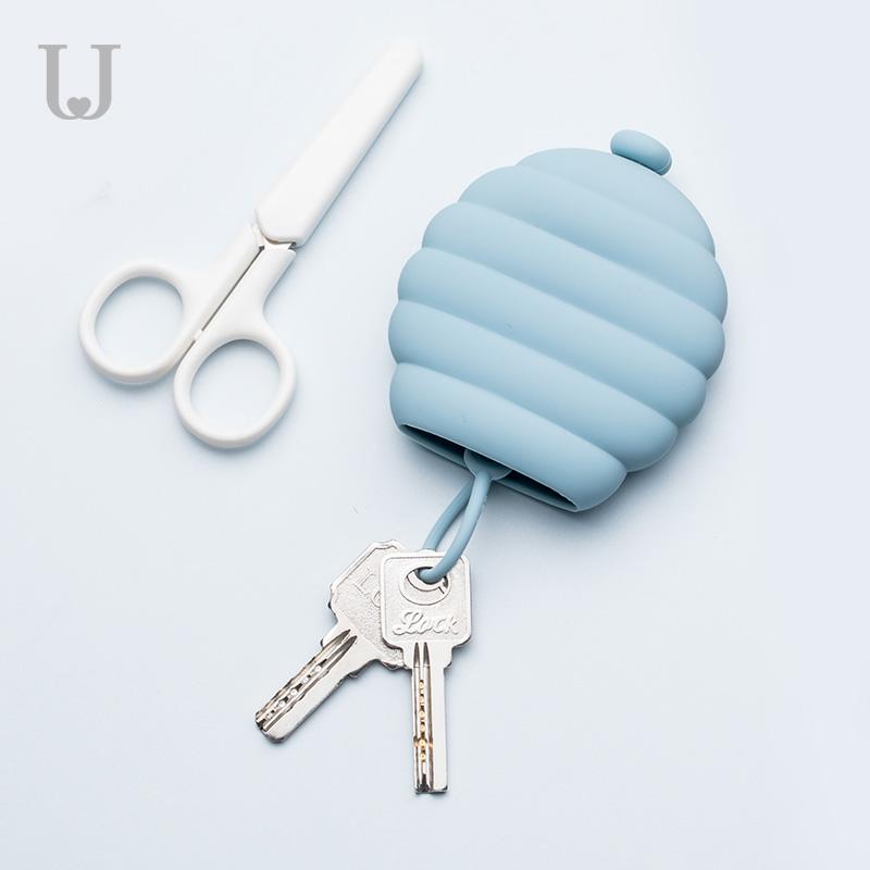 10-16新券佐敦朱迪创意硅胶卡包汽车锁匙扣