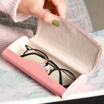 眼镜盒ins少女心便携防压墨镜盒子