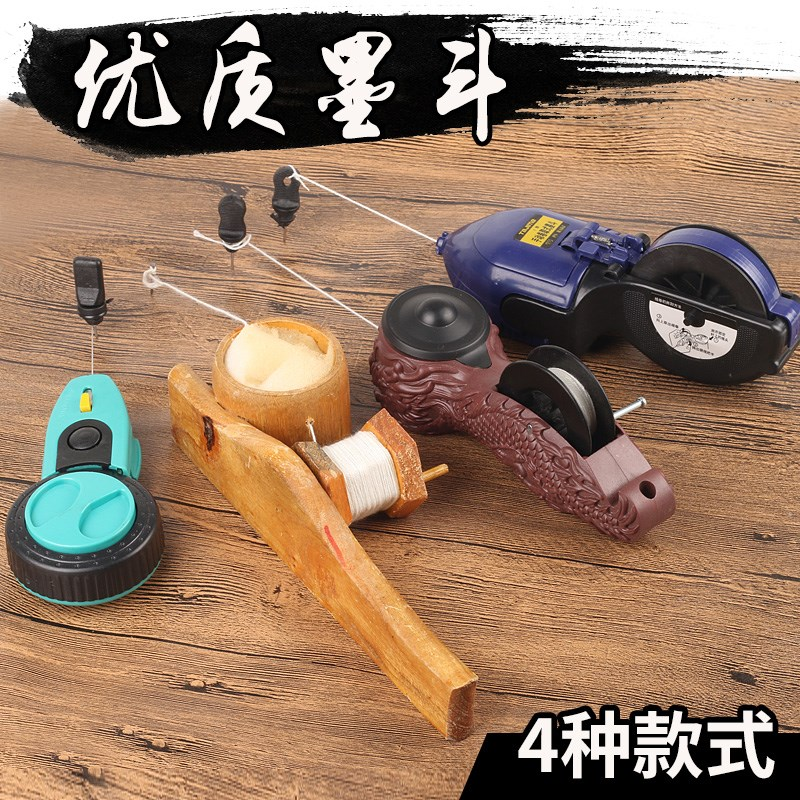 Ink fountain bamboo wood wood ink fountain woodworking scriber manual automatic marking tool plastic ink fountain woodworking Kit