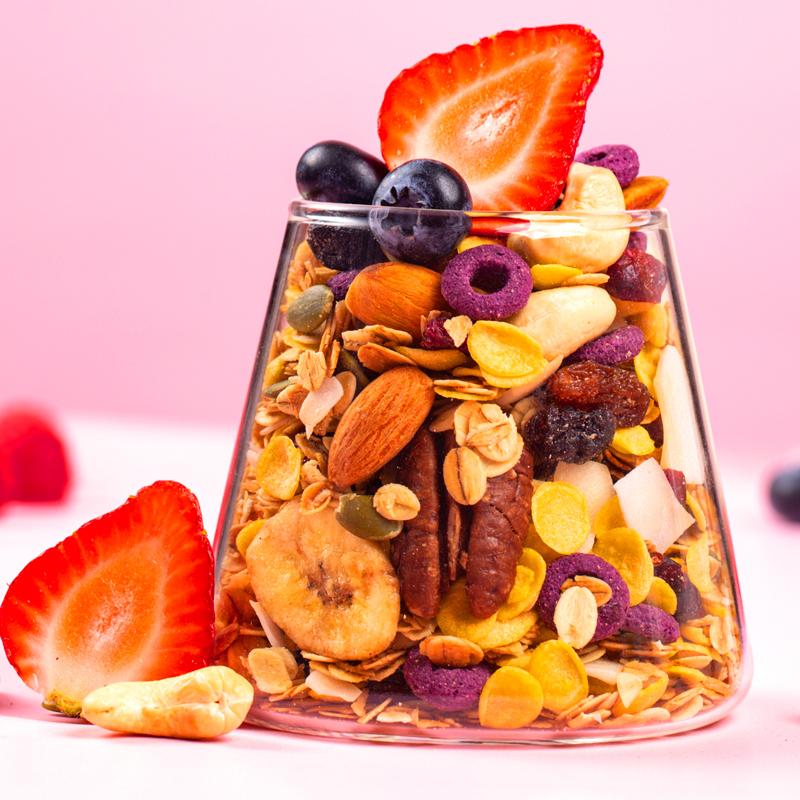 水果坚果酸奶果粒麦片 早餐即食冲饮 营养早餐