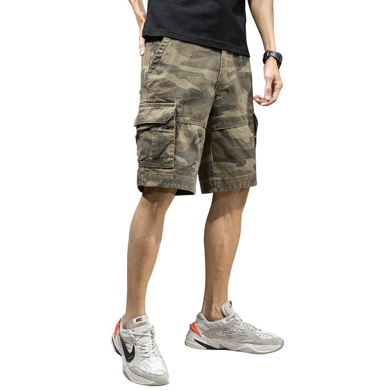 迷彩工装短裤潮牌ins潮流休闲裤子价格多少好不好用