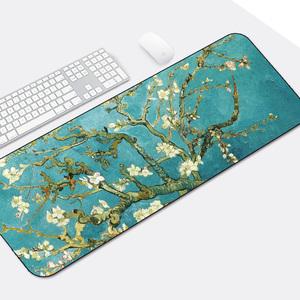 领3元券购买游戏超大鼠标垫锁边中国风加厚可爱兰亭序励志笔记本电脑办公桌垫