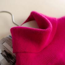 反季清仓羊绒衫女高领套头短款大码长袖修身针织打底衫羊毛衫毛衣