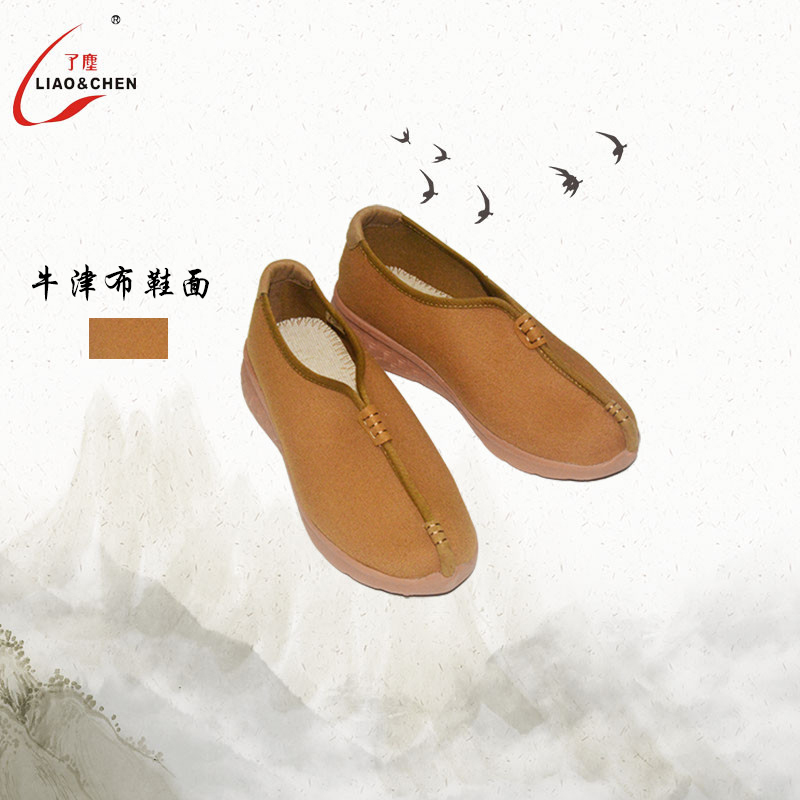 Oxford cloth monk shoes canvas monk shoes Chinese style cloth shoes spring and autumn new anti slip and wear resistant shoes in summer