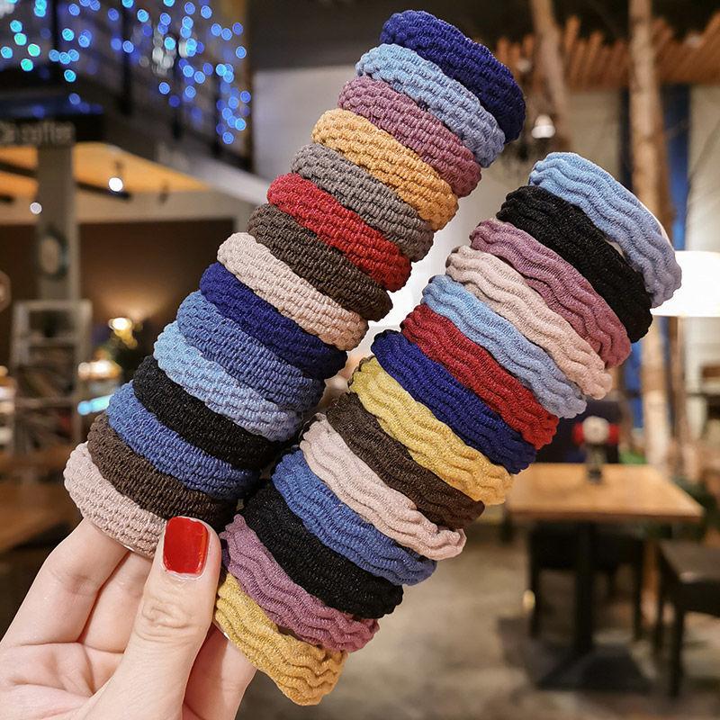 DA韩版网红加粗耐用头绳无接缝发圈扎头发橡皮筋韩版发绳头饰