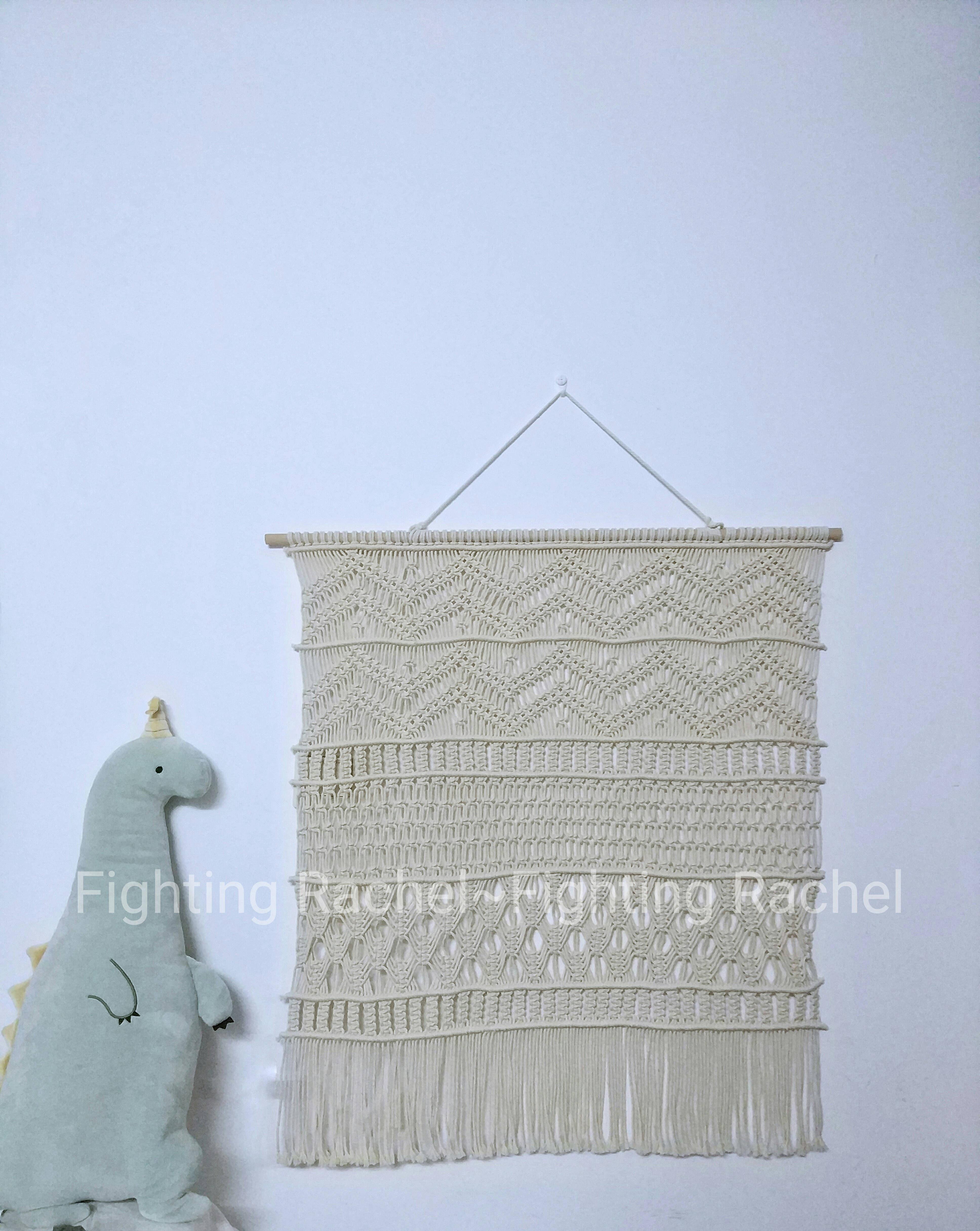 Ручной работы богемия ткать вешать одеяло нордический ветер вешать одеяло стена украшения простой украшение INS ветер литература и искусство