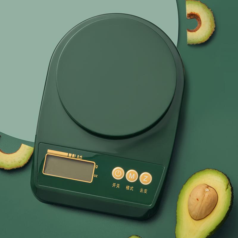 电子秤家用小型厨房秤称重食其它物精准克称烘焙克数秤高精度工具 Изображение 1