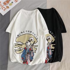 夏季新款 卡通印花圆领短袖T恤 A017 1997 P35