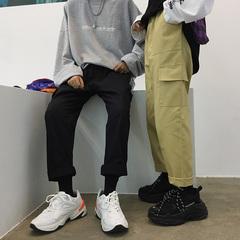 2018情侣装多口袋工装裤 休闲裤有大码 A017 K38 P55