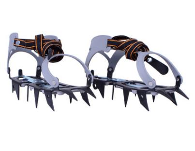 雪地攀冰防滑鞋套冰鞋户外登山防滑鞋套户外12齿冰爪鞋