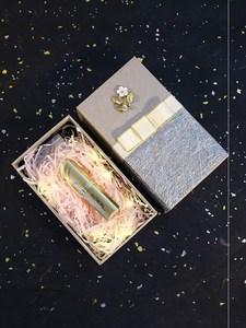 口红礼品盒合1支高档包装一只空管装口红的礼物盒 ins风单只创意