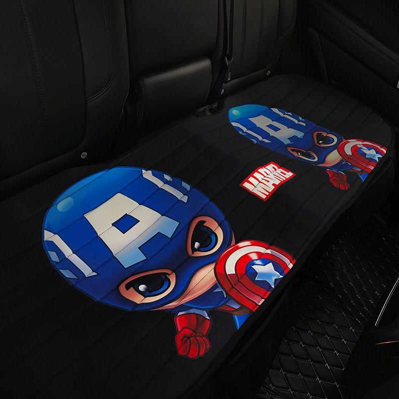 漫威卡通汽车坐垫可爱单片座垫屁屁垫创意车用坐垫四季通用车用品