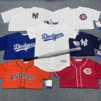 查看MLB洋基道奇队春秋外套短袖 团购街舞潮亲子装情侣青年棒球服球衣价格