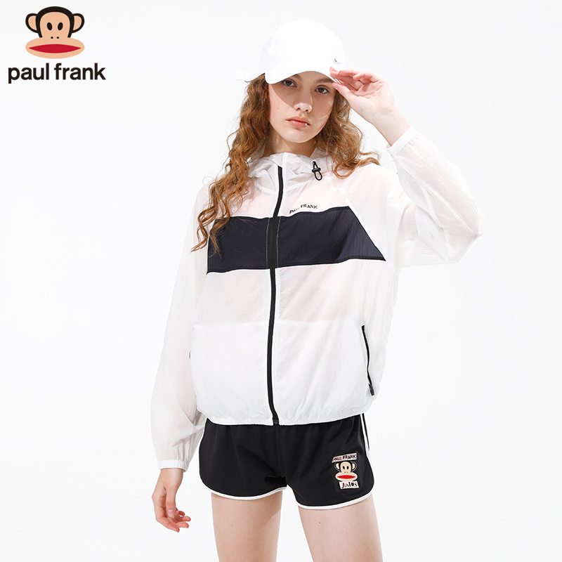 Paul Frank / macaque skin coat quick dry light summer thin breathable running sun suit sports coat for women
