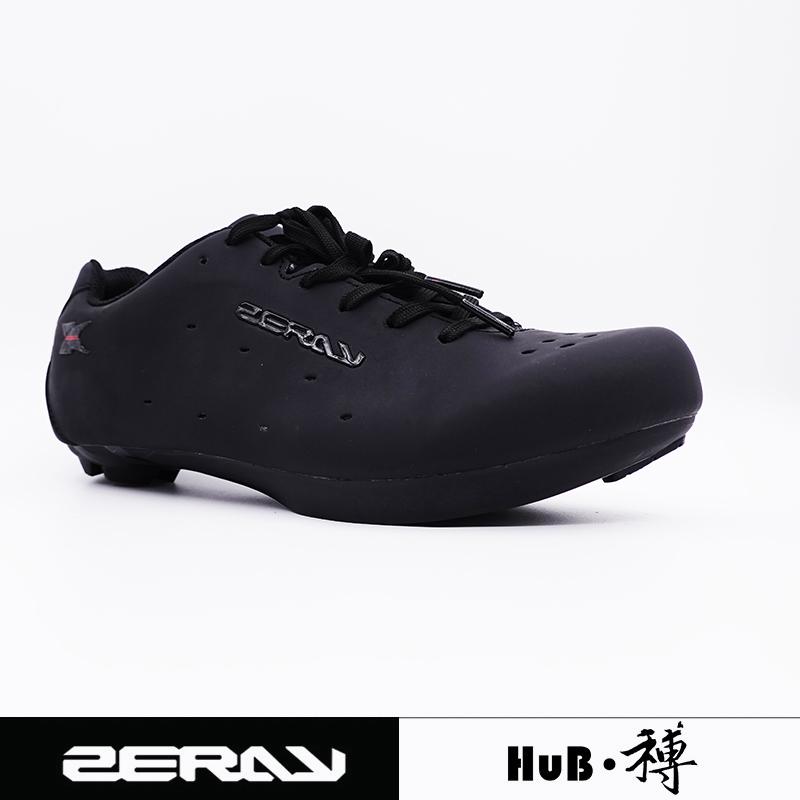 HuB和博卓锐ZERAY公路山地骑行鞋锁鞋复古版鞋带款E110亚洲脚型