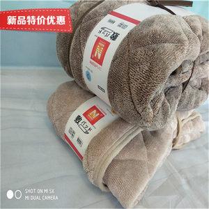 外贸出口日本尼达利NITORI吸湿发热床褥子 冬季垫被 加厚保暖防滑