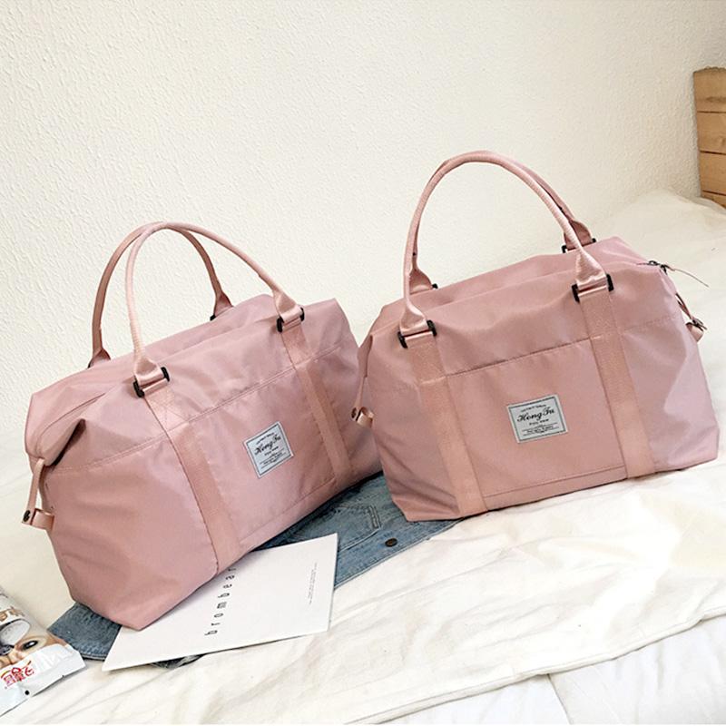 旅行包女韩版手提轻便收纳短途大容量出门网红旅游外出差行李包袋