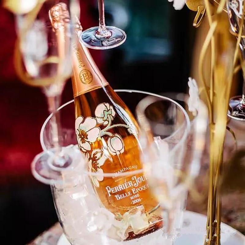巴黎之花美丽时光桃红玫瑰香槟Perrier Jouet Bel 2006