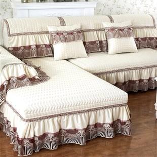 欧式高档沙发垫布艺防滑四季沙发套