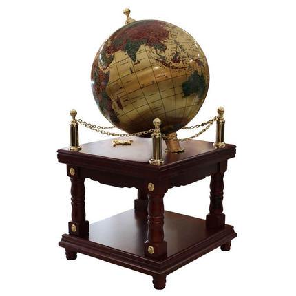 工美 铜质地球仪直径100cm