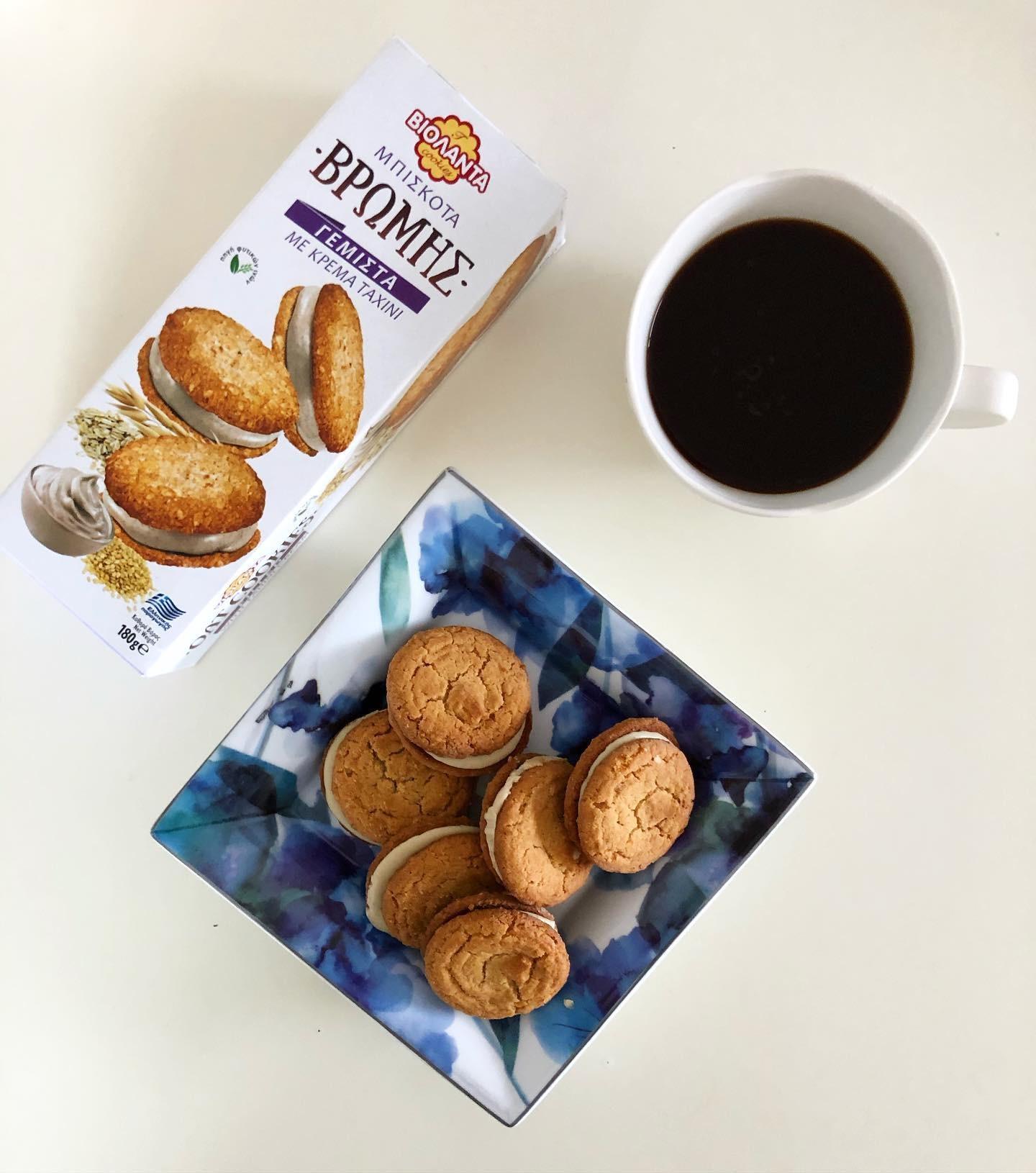 希腊进口甘齿记燕麦夹心饼干花生酱PeanutButter早餐下午茶点Oat