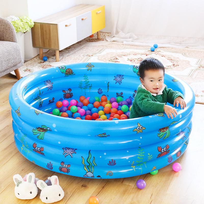 11-30新券球乐园充气海洋球池围栏男孩婴儿玩具游乐场家用室内球池婴幼儿