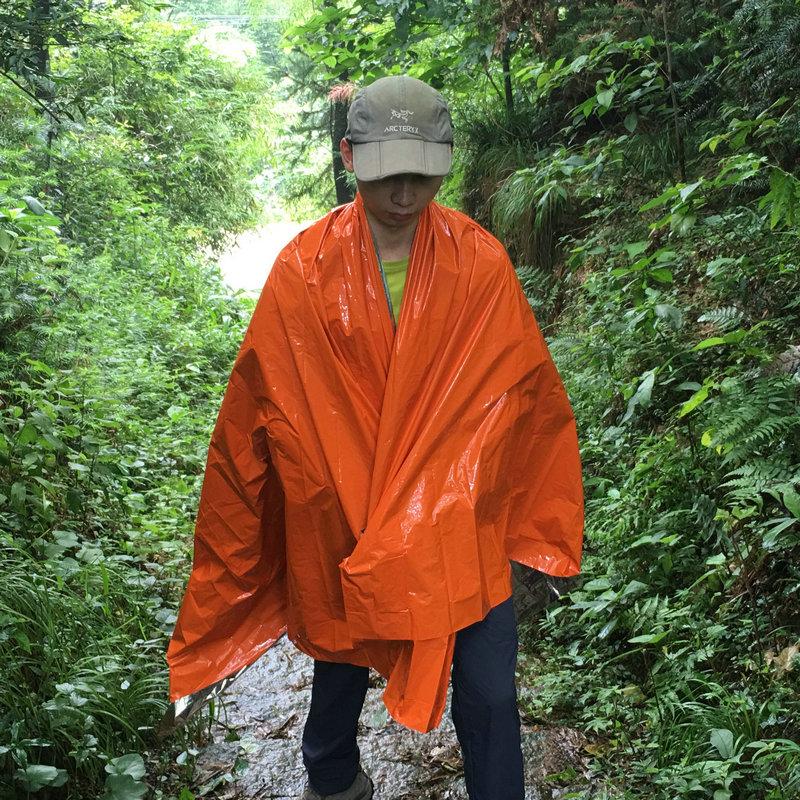 【加厚无声款】户外保温救生毯急救毯保暖防晒太空毯反光睡袋帐篷